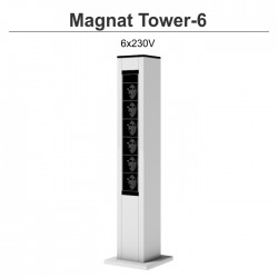 Magnat Tower- 6 6x230V