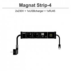 Magnat STRIP-4 (2x230V + 1xUSBcharger + 1xRJ45)