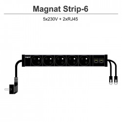 Magnat STRIP-6 (5x230V + 2xRJ45)