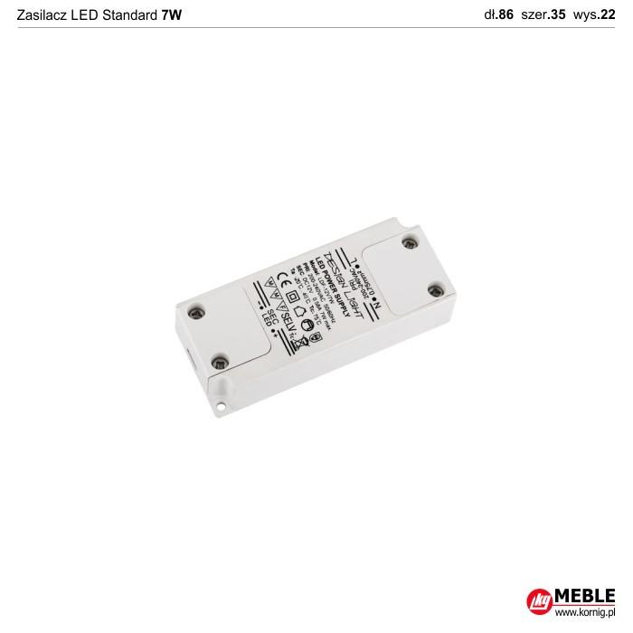 Zasilacz LED Standard 7W