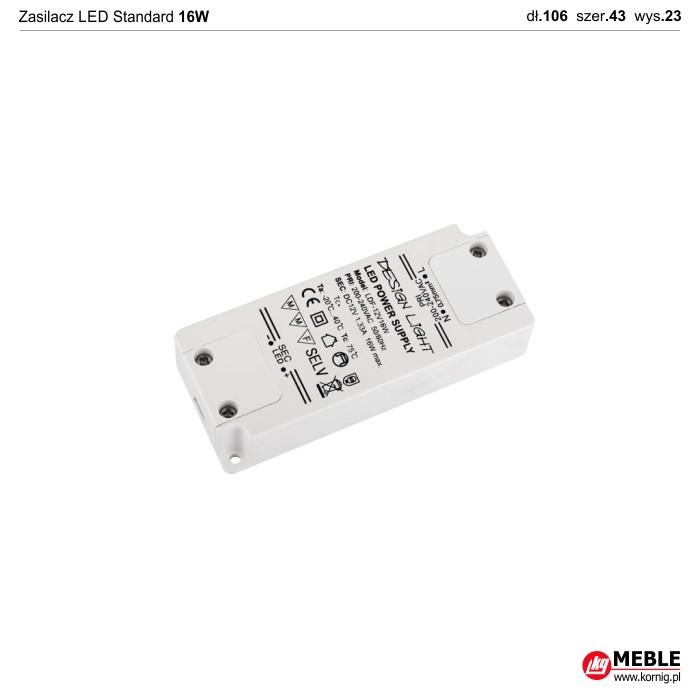 Zasilacz LED Standard 16W