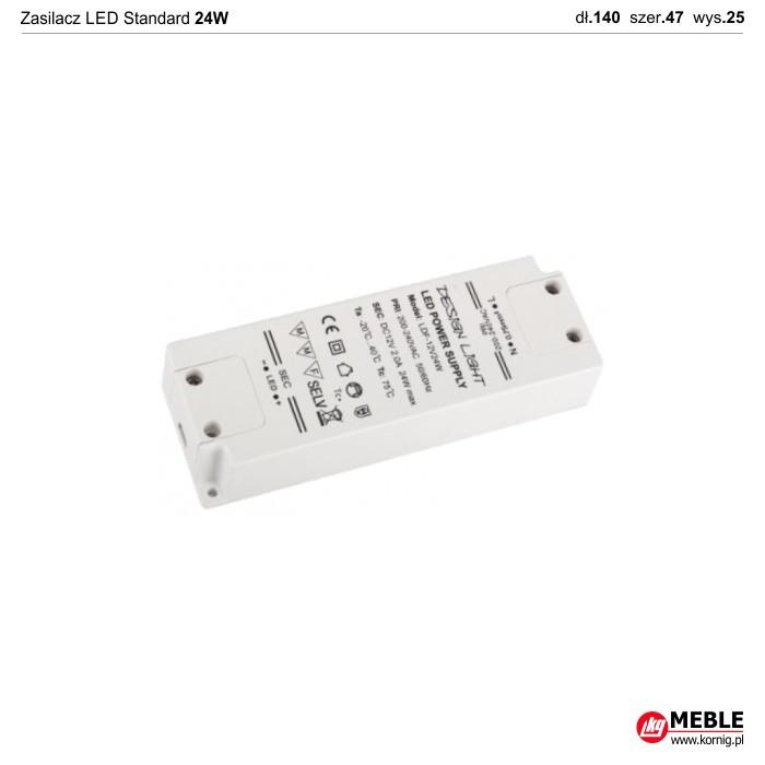 Zasilacz LED Standard 24W