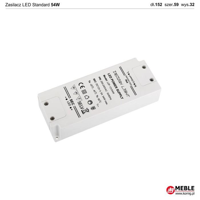 Zasilacz LED Standard 54W