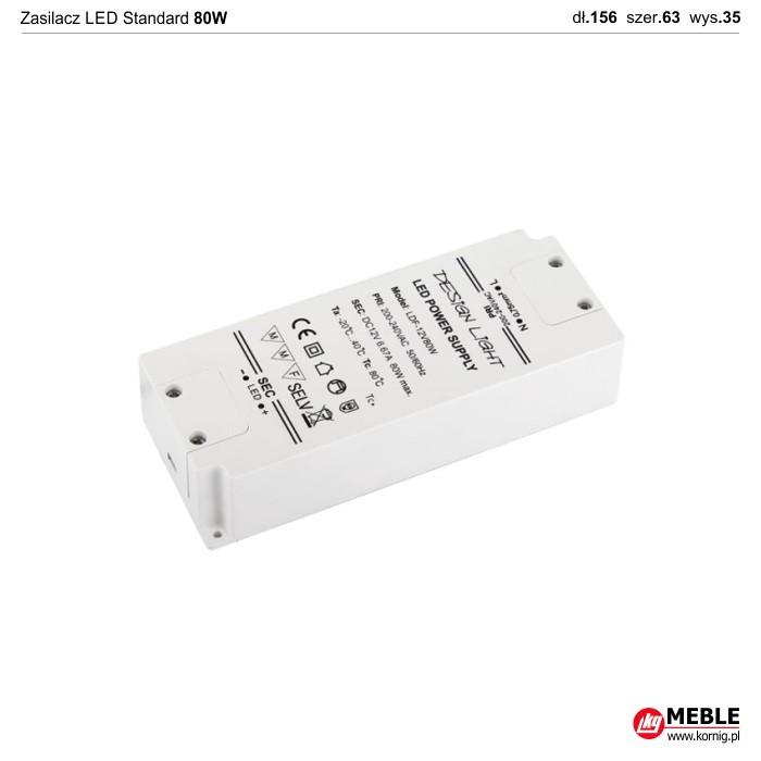 Zasilacz LED Standard 80W