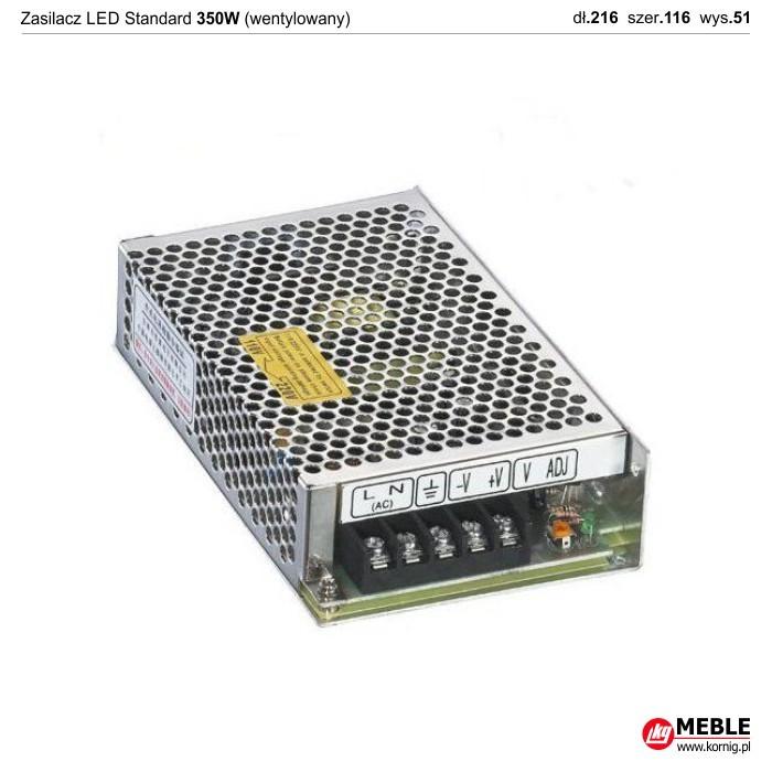 Zasilacz LED Standard wentylowany 350W