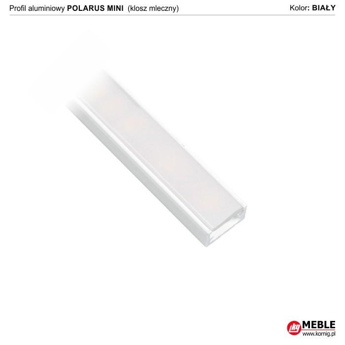 Polarus mini biały klosz mleczny