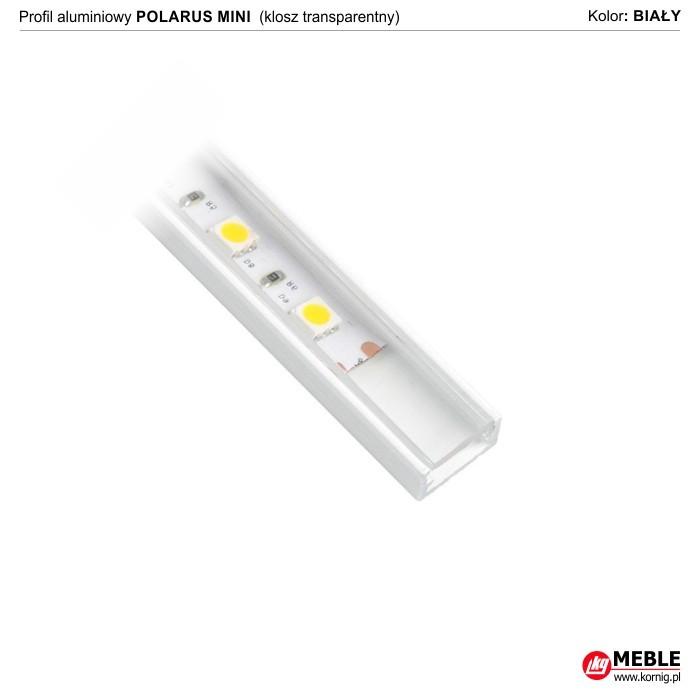 Polarus mini biały klosz transparentny