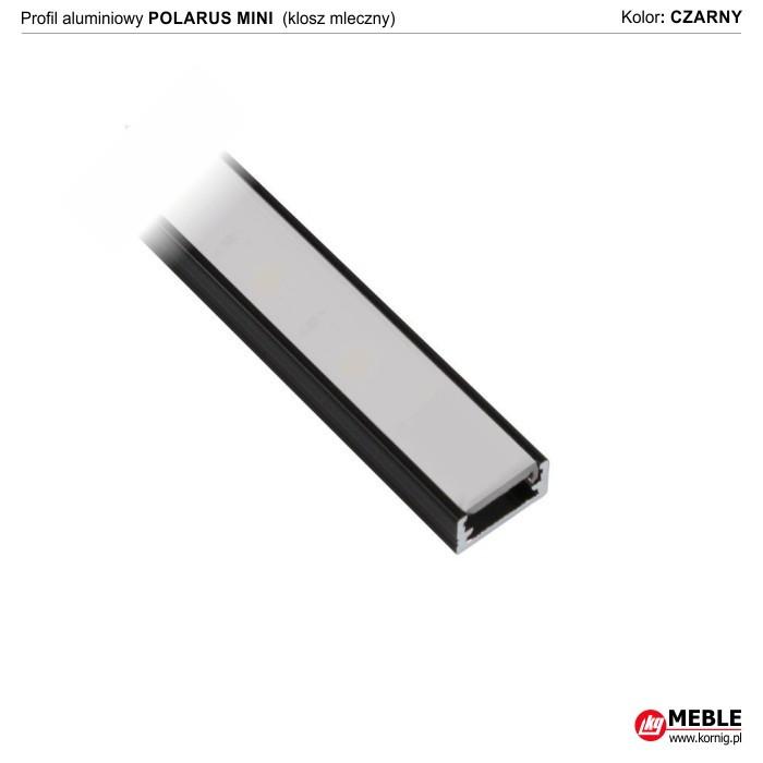 Polarus mini czarny klosz mleczny