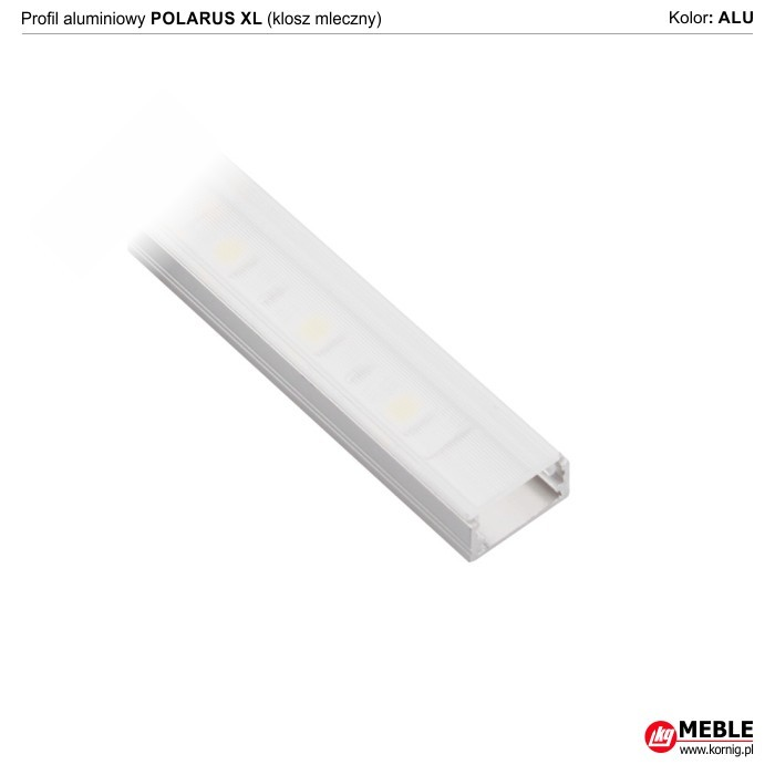 Polarus XL klosz mleczny