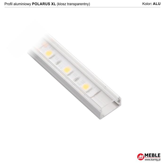 Polarus XL klosz transparentny