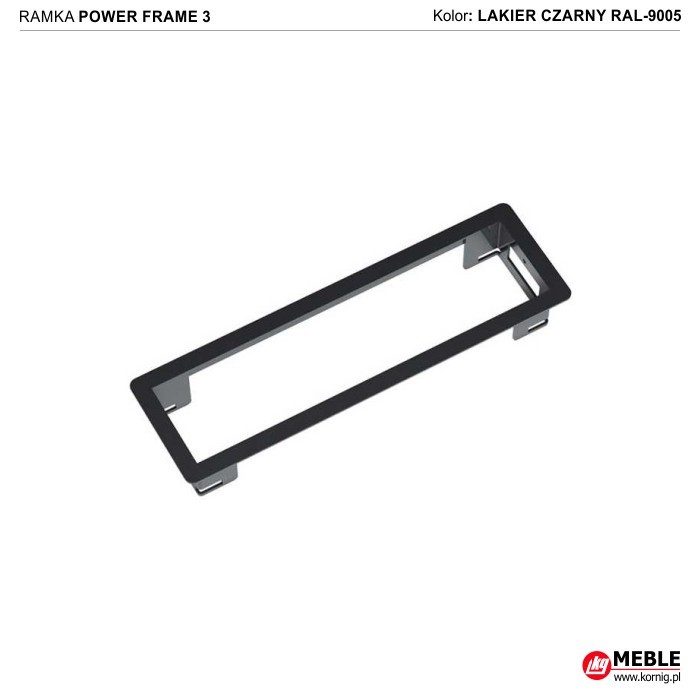 Power Frame-3 czarny