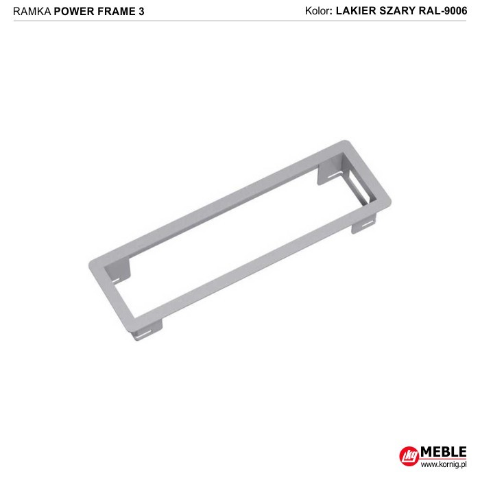 Power Frame-3 szary