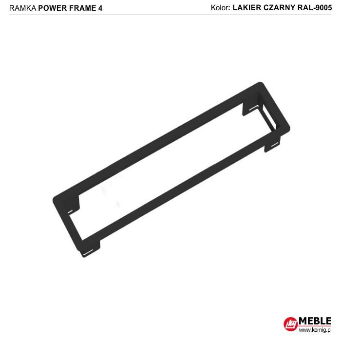 Power Frame-4 czarny