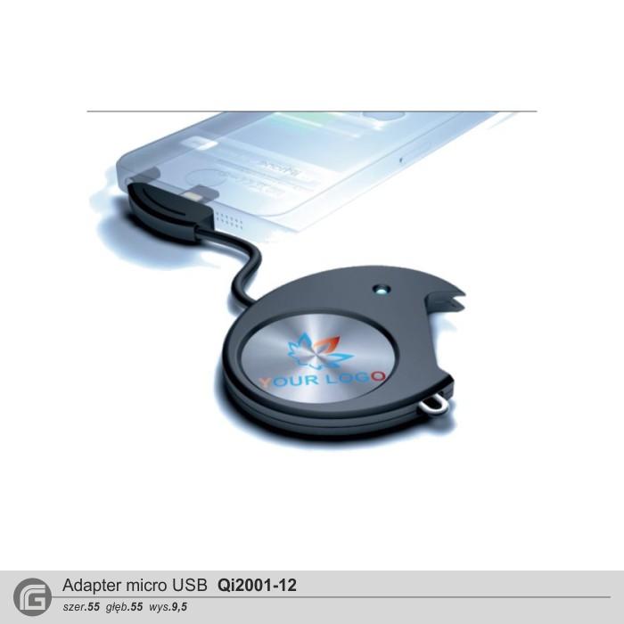 Adapter Qi2001-12 (Micro-USB)