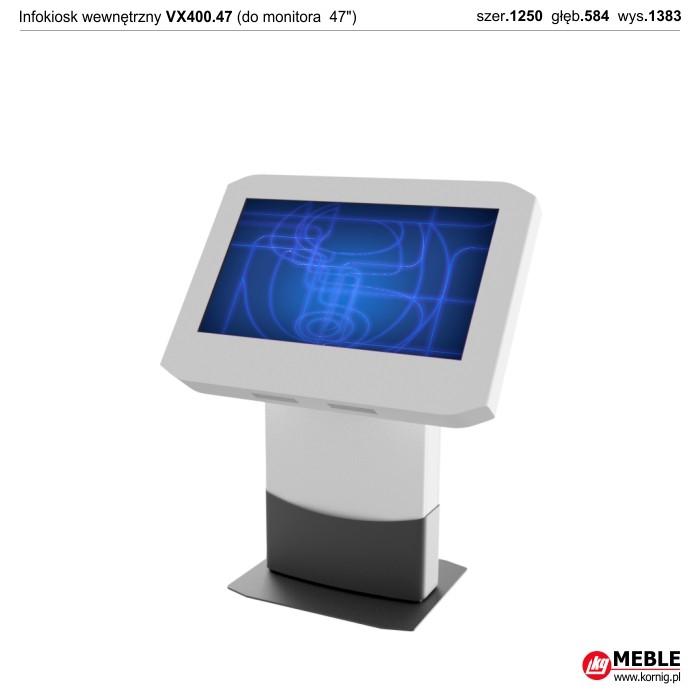 Infokiosk wewnętrzny VX400.47