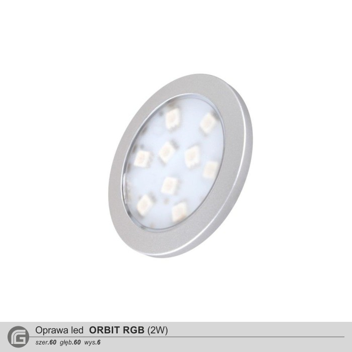 Oprawa led Orbit RGB 2W