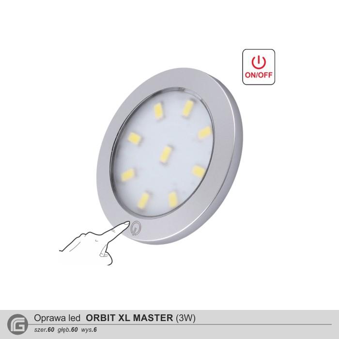 Oprawa led Orbit XL Master 3W