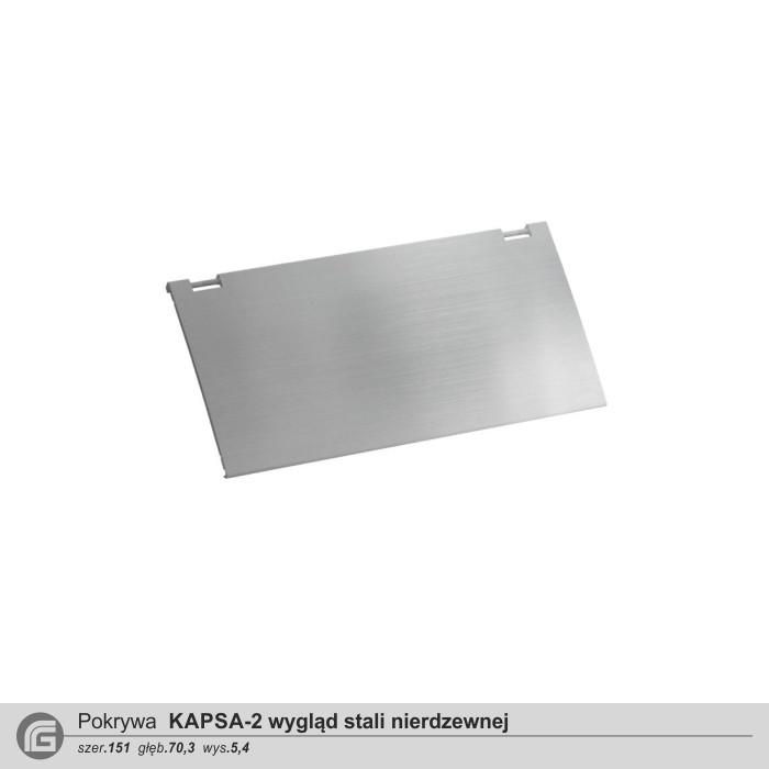 KAPSA-2 wygląd stali nierdzewnej
