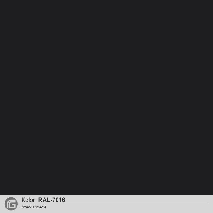 Kolor RAL-7016 antracyt