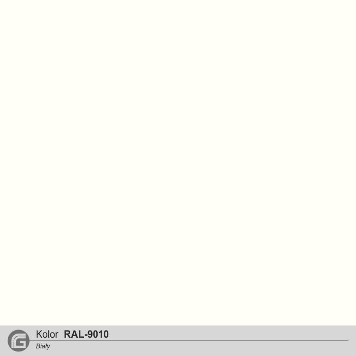 Kolor RAL-9010 biały