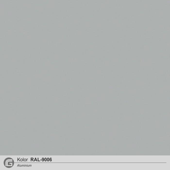 Szary metaliczny (podobny do RAL9006)